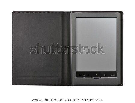 ereader in leather case Stock photo © compuinfoto