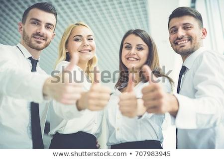 aprendiz · construtor · sorridente · branco · pessoa - foto stock © petrmalyshev