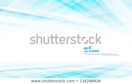 abstract blue and white futuristic eps 10 stock photo © beholdereye