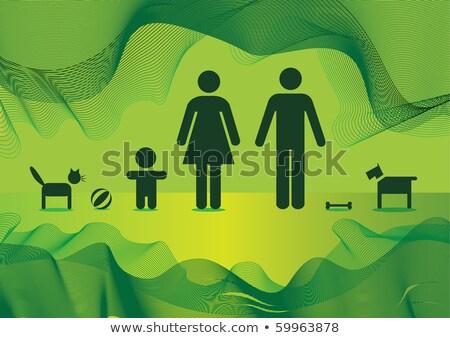 3次元の人々 サッカー 頭 白 ビジネス 男 ストックフォト © Quka