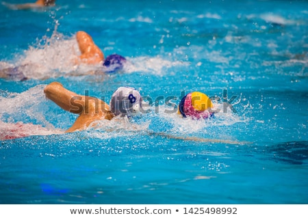 Water Polo Player Stock photo © nickp37