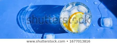 пить · Sweet · льда · стекла · фон · волна - Сток-фото © saddako2