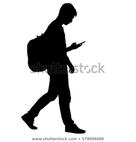 student silhouette stock photo © arenacreative