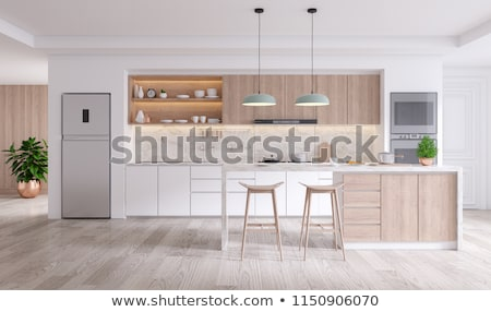 Domestic kitchen Interior Stock photo © zzve