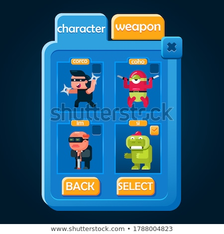Vector icon pop up toy Stock photo © zzve