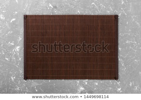 bamboo placemat Stock photo © taden