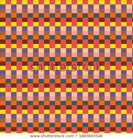 геометрический бесшовный элемент дизайна аннотация Сток-фото © valkos
