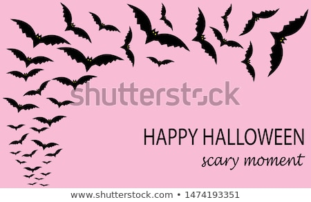 spooky halloween composition eps 10 stock photo © beholdereye