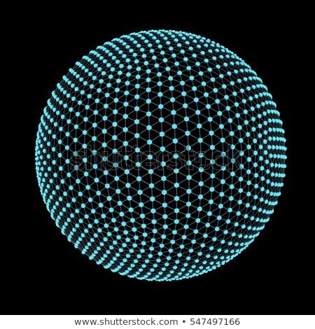 küresel · yapı · soyut · bilgisayar · oluşturulan · web - stok fotoğraf © imaster