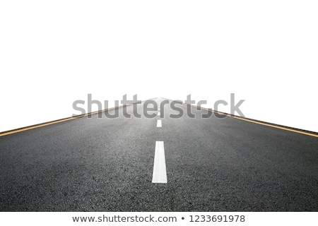 Weg geïsoleerd witte abstract straat Stockfoto © carloscastilla