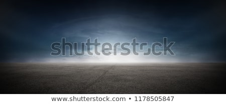 Blue sky with dark clouds Stock photo © BSANI