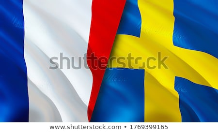 France and Sweden Flags  Stock photo © Istanbul2009
