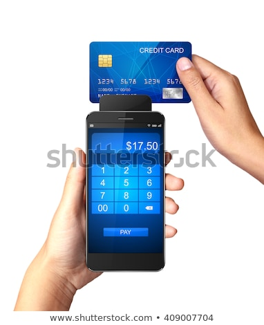Smartphone with processing of mobile Stock photo © frescomovie