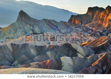 śmierci dolinie parku California USA wiosną Zdjęcia stock © emattil