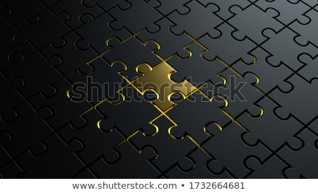 Golden symbol of Humanism  Stock photo © shawlinmohd