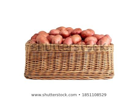 新鮮な ジャガイモ オーガニック 食品 農業 野菜 ストックフォト © drobacphoto