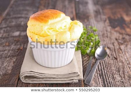comida · luz · prato · cor · sobremesa · colher - foto stock © m-studio