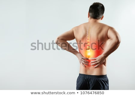 Scoliosis. Medical Concept. Stock photo © tashatuvango