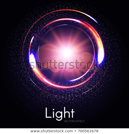 elegant gold color transparent light effect Stock photo © SArts