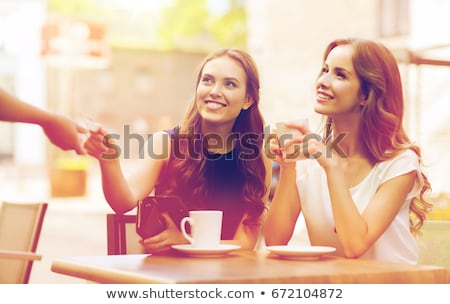 pago · Servicio · moderna · femenino · muñeca - foto stock © dolgachov