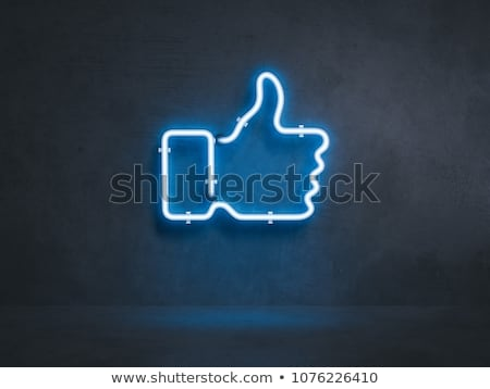 follow blue buttons for social media stock photo © aisberg
