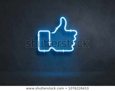 Azul botões fundo teia cor Foto stock © AisberG