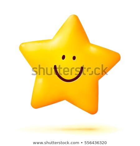 Rajz csillag álmodik illusztráció alszik mosolyog Stock fotó © cthoman
