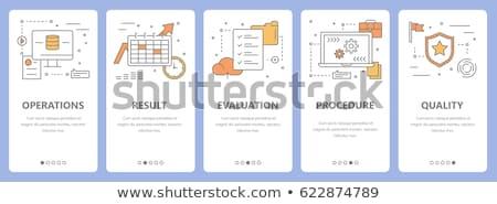 Money Operations Icons Set Vector Illustration Stock photo © robuart