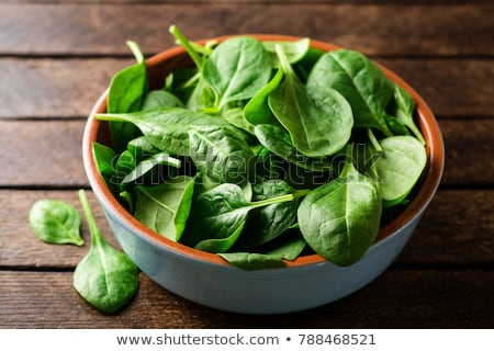 Preparing spinach Stock photo © simply