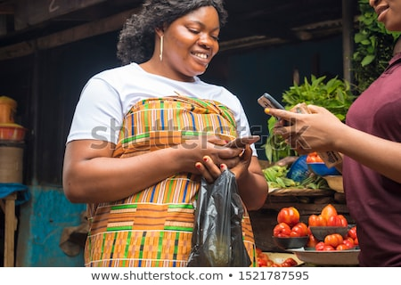 Business woman receives funds Stock photo © netkov1
