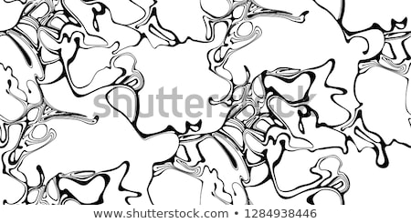 abstract turqoise liquid marble pattern Stock photo © SArts