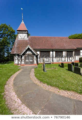 Great Altcar Church Stock photo © backyardproductions