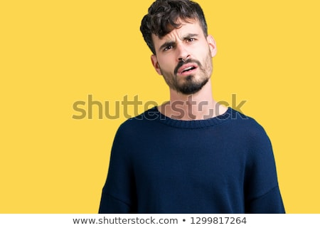 Perplexed face of a man Stock photo © photography33