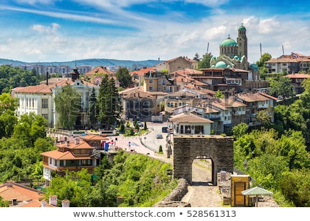 Kościoła Bułgaria starówka architektury historii wieża Zdjęcia stock © travelphotography