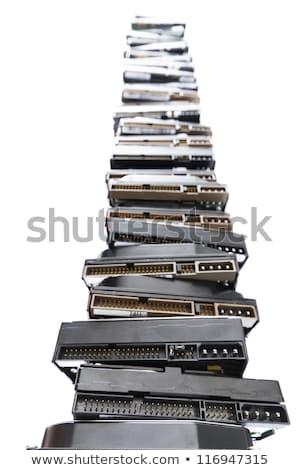 Magas boglya használt technológia digitális információ Stock fotó © gewoldi