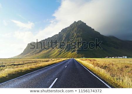 Ruta Islandia vacío rural cielo naturaleza Foto stock © tomasz_parys