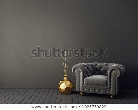 luxurious armchair stock photo © bumerizz
