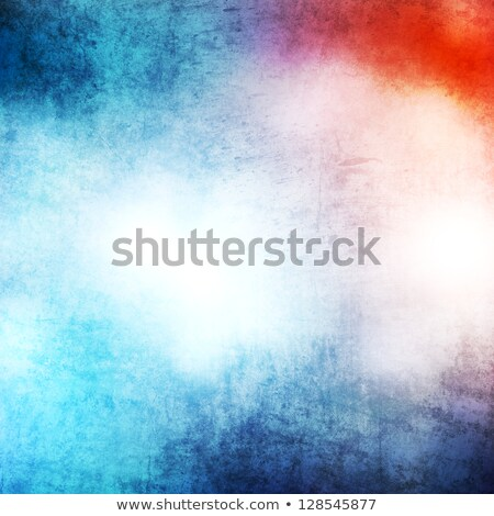 blue and red grunge cracked background Stock photo © tungphoto