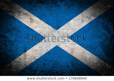 Vlag grunge wind textuur achtergrond reizen Stockfoto © tintin75