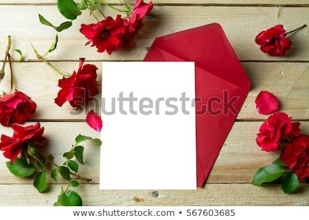 Valentine love letter Stock photo © netkov1