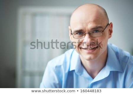 closeup portrait of a young elegant business man stock photo © feedough