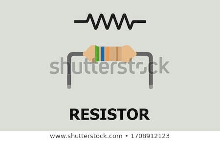 Blue resistors. Stock photo © Leonardi