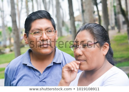 Native American indians couple Stock photo © adrenalina