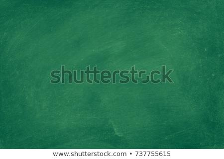 Fikirler metin yeşil tahta grup kalemler Stok fotoğraf © fuzzbones0