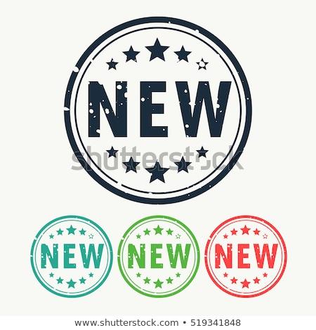 Nowego pieczęć etykiety odznakę stylu vintage Zdjęcia stock © SArts