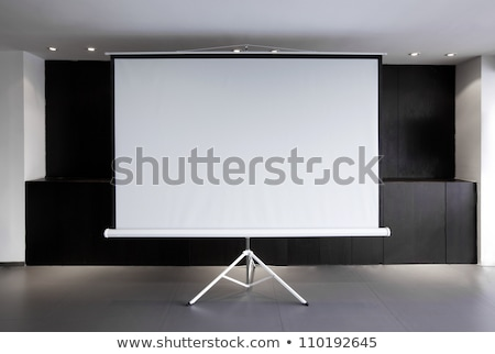 Tripod Whiteboard with Blank Screen. Stock photo © robuart
