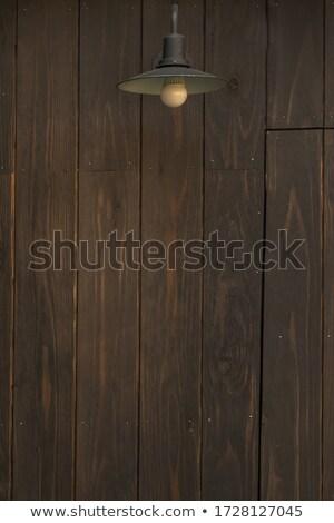古い 木製 壁 ウィンドウ 暗い ストックフォト © nessokv