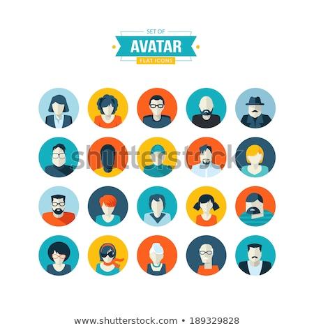 Resumen hombre icono vector estilo gráfico Foto stock © ahasoft