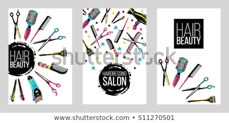 Comb graphic design template vector isolated Stock photo © haris99