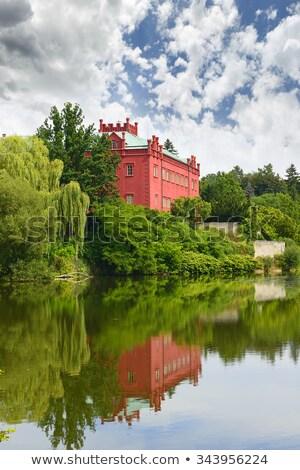 Csehország barokk szobor kert kastély park Stock fotó © borisb17